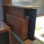 ALZO ZERO è il tv lift a corsa doppia ideale per l'installazione in mobili bassi