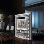Sistema motorizzato rotante porta tv per mobile salotto
