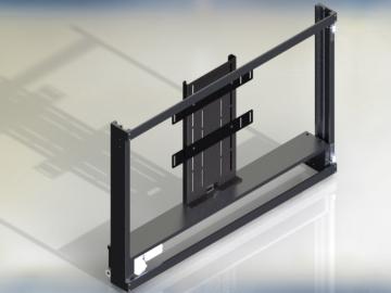 Tv lift motorizzato per l'installazione a scomparsa modello up-down