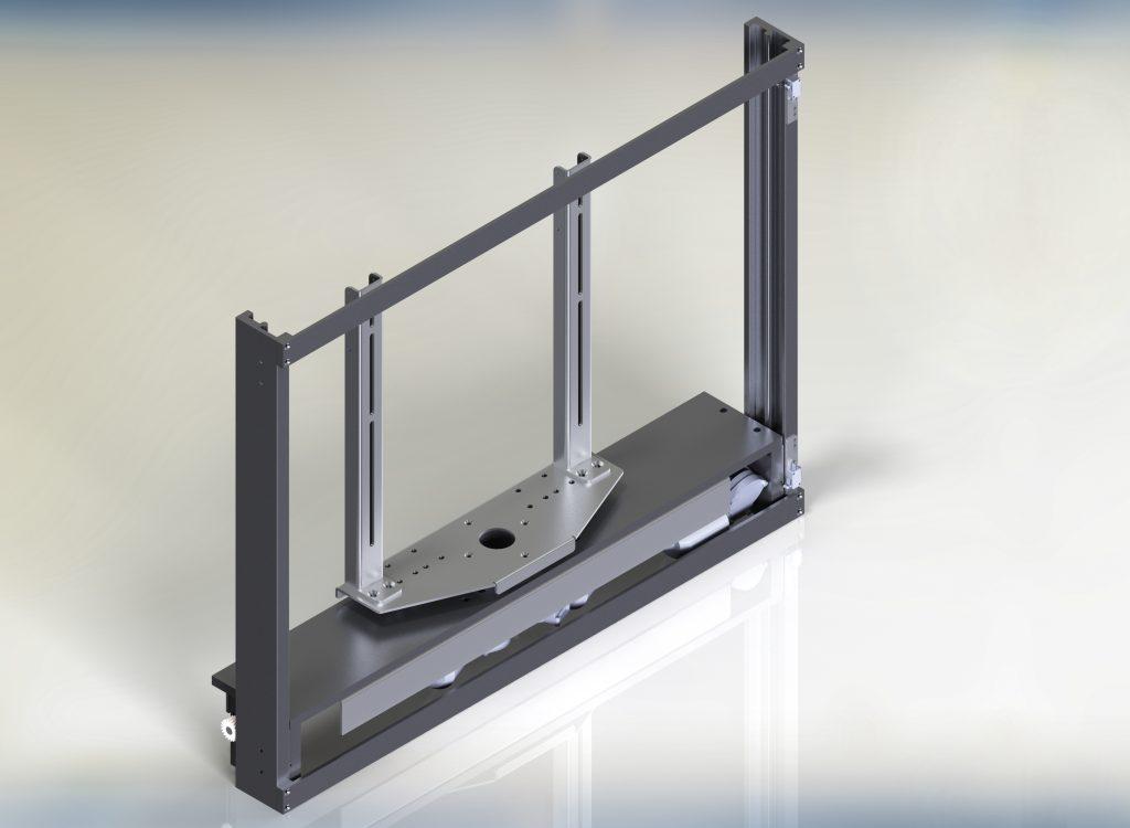 Tv lifts TS series con rotazione centrale servoassistita
